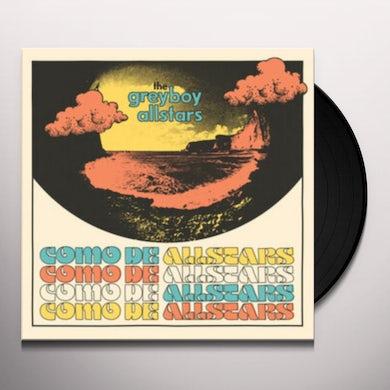 Greyboy Allstars COMO DE ALLSTARS Vinyl Record