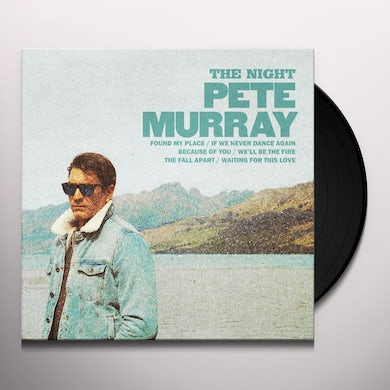 Pete Murray THE NIGHT LP (Vinyl) Limited Signed