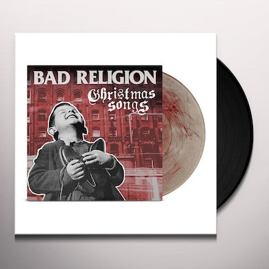 Bad Religion Christmas Songs LP (Clear/Red) (Vinyl)
