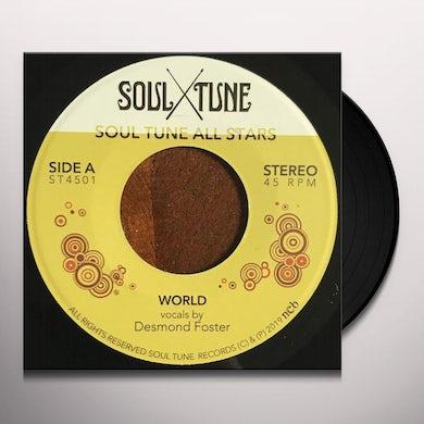 Soul Tune Allstars World / natural feeling Vinyl Record