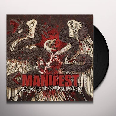Manifest And for this we should be damned?  lp Vinyl Record