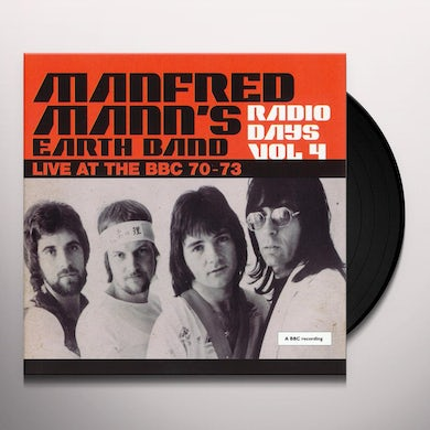 Manfred Mann's Earth Band Radio Days: Vol. 4: Live At The BBC: 1970-1973 Vinyl Record