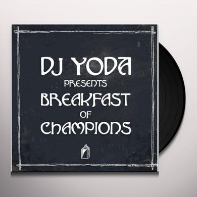 Dj Yoda  Breakfast Of Champions Vinyl Record