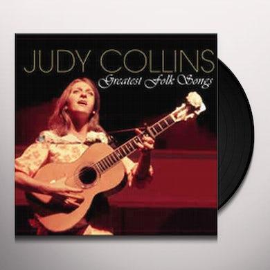 Judy Collins Greatest Folk Songs Vinyl Record