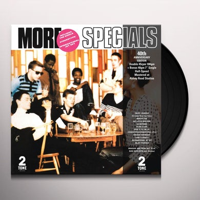 More The Specials  40 Th Anniversary Half Spe Vinyl Record