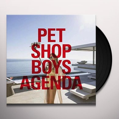 Pet Shop Boys Agenda Vinyl Record