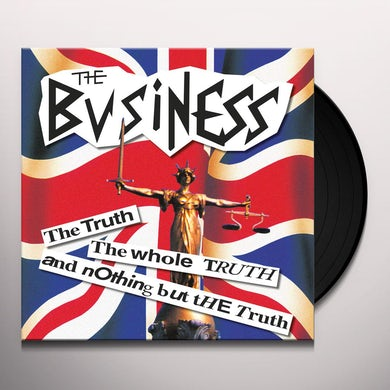 The Business Truth the whole truth and nothing but the truth Vinyl Record