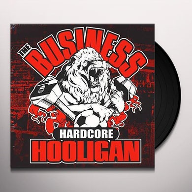 The Business Hardcore hooligan Vinyl Record