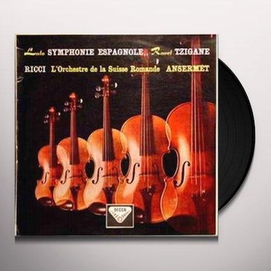 Ernest Ansermet Lalo: Symphonie Espagnole/Ravel: Tzigane Vinyl Record