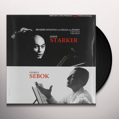 Brahms: Sonatas For Cello And Piano Nos. 1 & 2 Vinyl Record