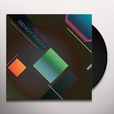 Villa Nah Midnight Versions Vinyl Record