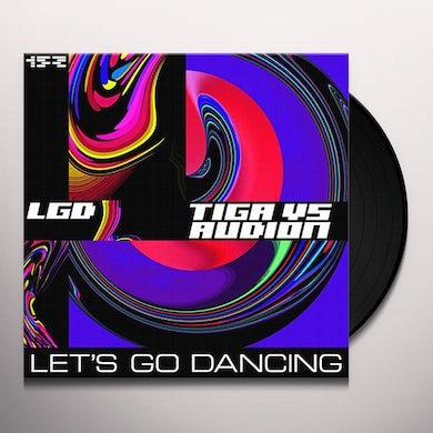 Tiga Let's Go Dancing EP Vinyl Record