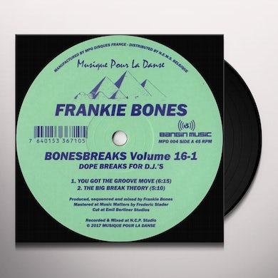Frankie Bones Bonesbreaks Vol.16 Part 1 Vinyl Record