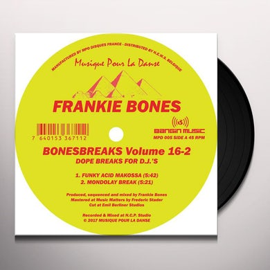 Frankie Bones Bonesbreaks Vol.16 Part 2 Vinyl Record