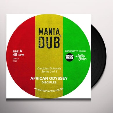 Disciples African odyssey/african dub Vinyl Record