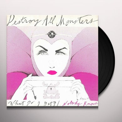 Destroy All Monsters What Do I Get/Nobody Knows Vinyl Record