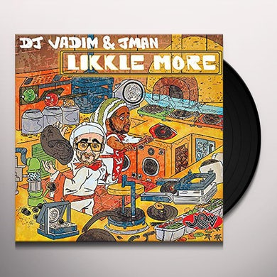 Dj Vadim Heart Attack/Good Old Days Vinyl Record