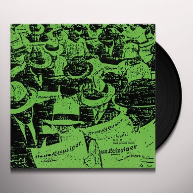 Bgm Back ground music Vinyl Record