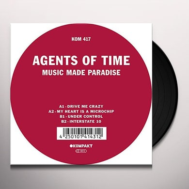 Agents Of Time Music Made Paradise Vinyl Record