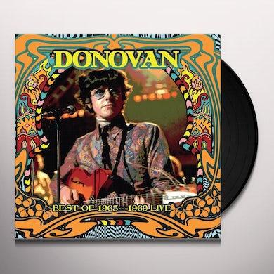 Donovan Best Of 1965 1969 Live Vinyl Record
