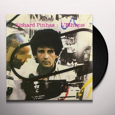 Richard Pinhas L'Ethique Vinyl Record