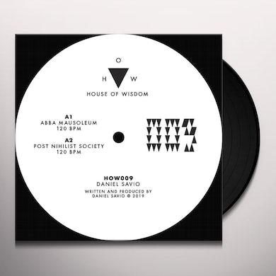 Daniel Savio Abba Mausoleum Vinyl Record