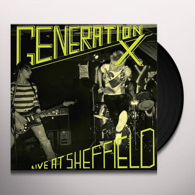 Generation X Live At Sheffield Vinyl Record
