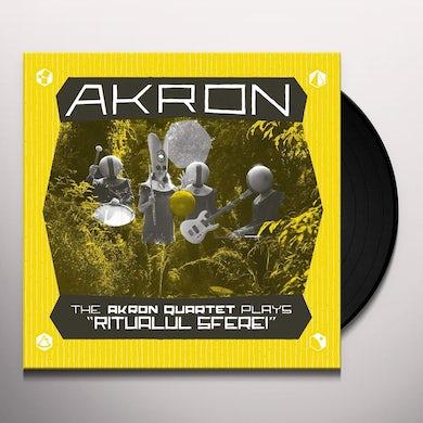 """Akron Quartet Plays """"Ritualul Sferei"""" Vinyl Record"""
