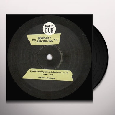 Disciples Almighty dub/zion rock dub Vinyl Record