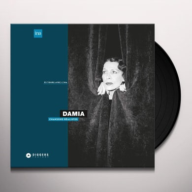 Damia Chansons Realistes Vinyl Record