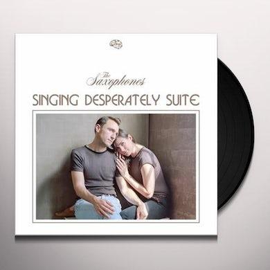 Saxophones Singing Desperately Suite Vinyl Record