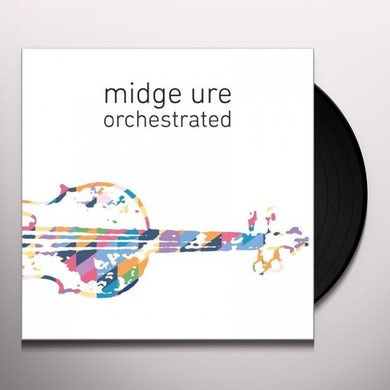 Midge Ure Orchestrated Vinyl Record