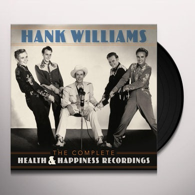 Hank Williams Complete Health & Happiness Recordings Vinyl Record