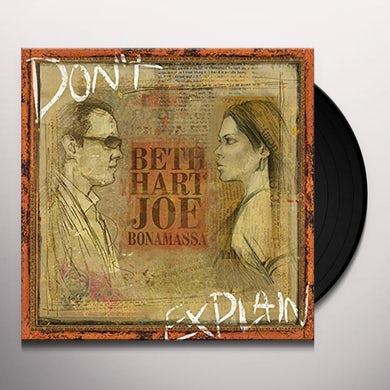 Beth Hart Don't Explain Vinyl Record