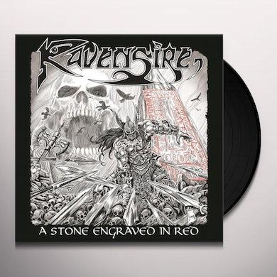 RAVENSIRE Stone Engraved In Red Vinyl Record