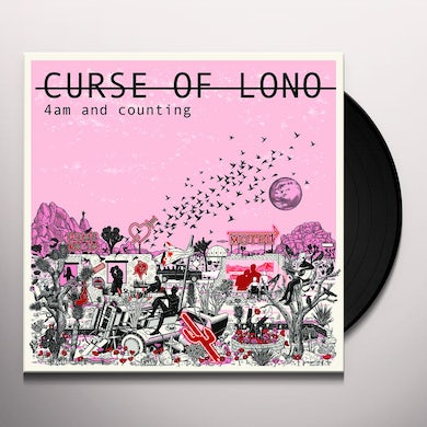 Curse Of Lono 4am and counting: live at toe rag studios Vinyl Record