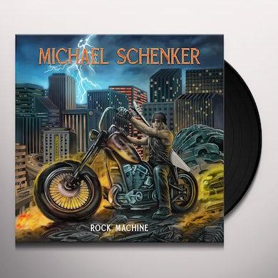 The Michael Schenker Group Rock Machine Vinyl Record