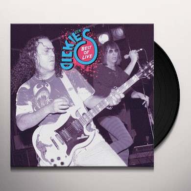 The Dickies Best Of Live Vinyl Record