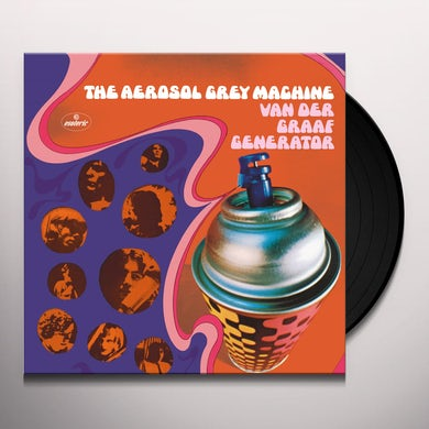 Aerosol Grey Machine Vinyl Record