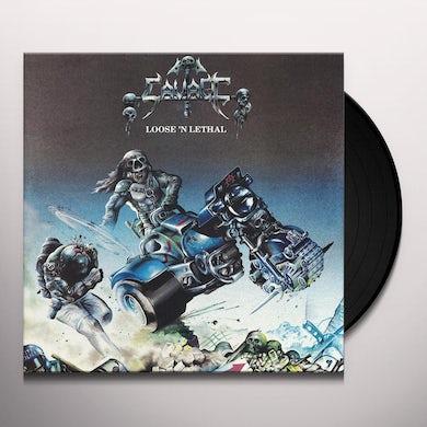 Savage Loose 'n lethal Vinyl Record