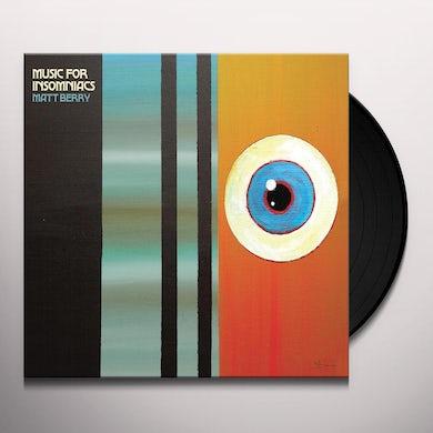 Matt Berry Music For Insomniacs Vinyl Record