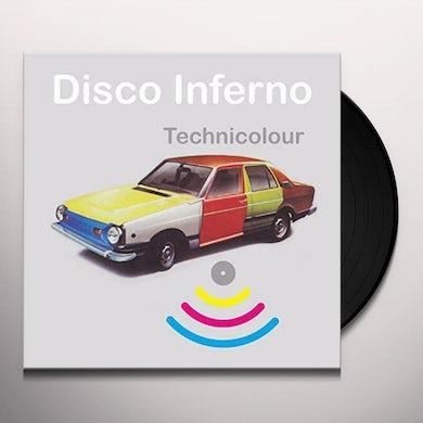 Disco Inferno Technicolour Vinyl Record