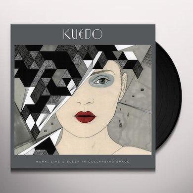 Kuedo Work  Live & Sleep In Collapsing Space Vinyl Record