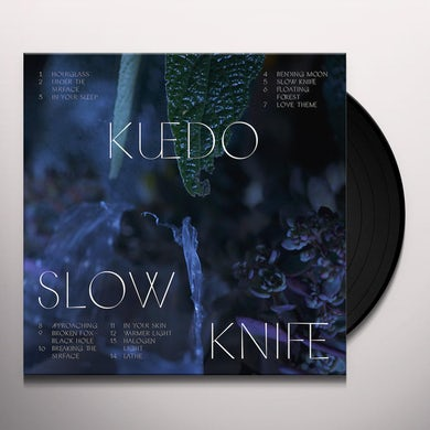 Kuedo Slow Knife Vinyl Record