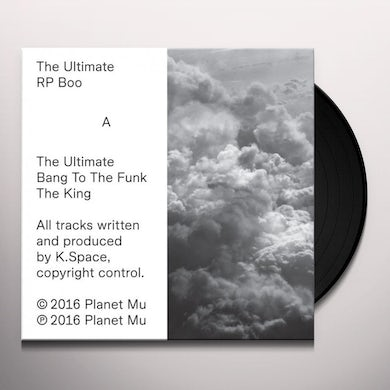 Rp Boo The Ultimate Vinyl Record