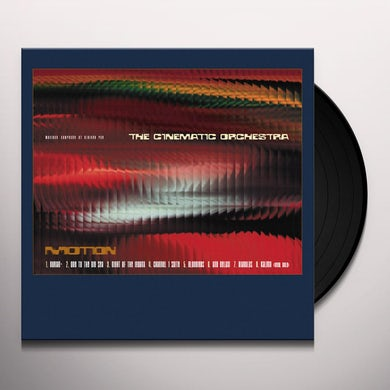 The Cinematic Orchestra Motion (2 Lp) Vinyl Record