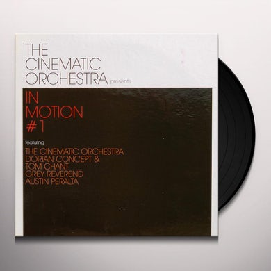 The Cinematic Orchestra In Motion #1 Vinyl Record
