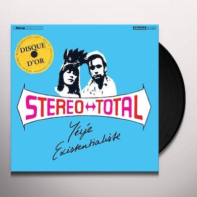 Stereo Total Yeye Existentialiste (Color Vinyl) Vinyl Record