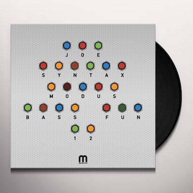 Joe Syntax Modus Bass Fun Vinyl Record