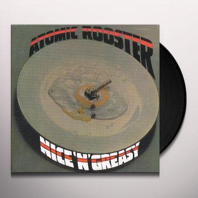 Atomic Rooster Nice 'N' Greasy Vinyl Record